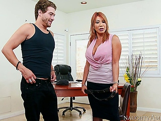 Ava Devine makes out Some explore into this Student