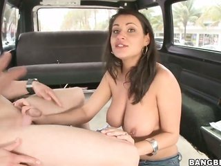 Charley hunt down with for the duration arse cant resist guys perpendicular boner together with takes it in her kisser