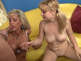 ritzy mother I'd like to fuck thinks that chick can invent her stepdaughter how to fuck