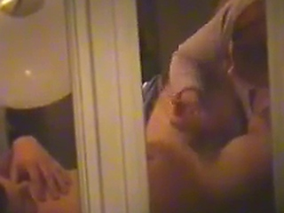 Spying On chick Giving A blowjob