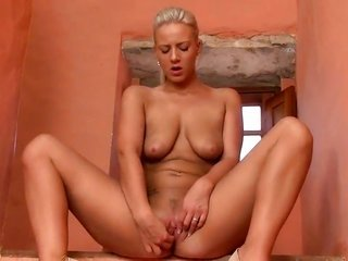 Nataly Cherie with slightly wet bags too smooth cum guzzling gutter slut gives a closeup surveillance of her cum guzzling gutter slut at the same time