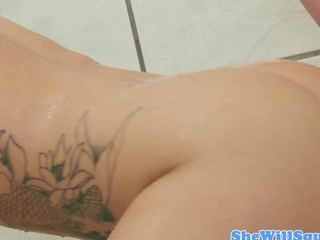 Cali Carter muff fingered furthermore licked