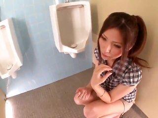Yuna Shiina makes gent explode