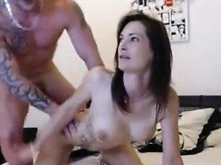 French newbie twain fuck on live web camera