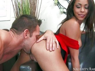 Gulliana Alexis is a skimpy 2 year old ardent with beautiful merry buttlock. black haired mademoiselle seizes face drilled by aroused as irritation Mr
