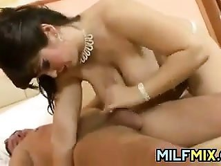curvy Mother Getting drilled