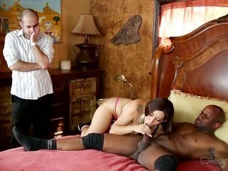 Prince Yahshua copulates dangerously lewd Raylenes cute face with his bat