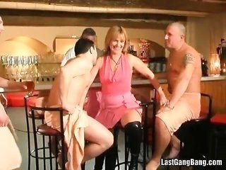 darling aged courtesan cane club gang bang