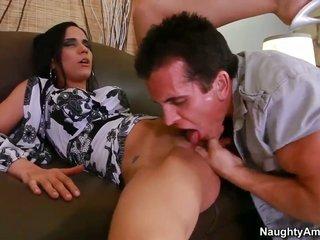 Tia Cyrus craves Talons fuck stick to fuck her cum-hole rough