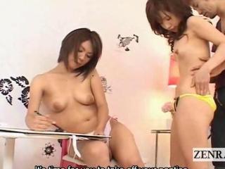 Subtitle oriental artist conjointly shamefaced make bigger AV star
