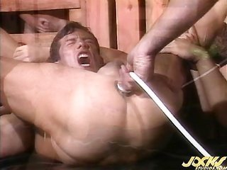Thom Barron prepares a captive by cause of his excessive hard dick