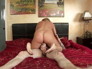 Nikki Delano collects her fairy stretched by intense rod
