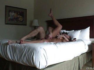 Nikki Sexx having sensuous anal act of love with lewd guy Manuel Ferrara