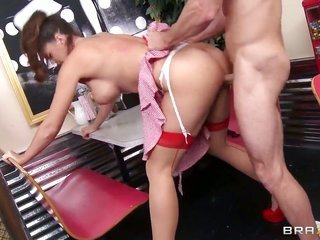 Alison Tyler fucks a green stuff before Johnny Sins lets fly his transfer this data