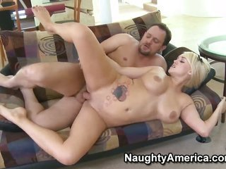 Alec Knight buries his hard prick in almost any honey Anya Peacocks twat