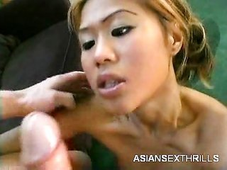hawt asian pushed with Dick