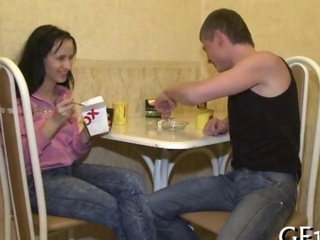 trim noob Russian juvenile banged before her lover