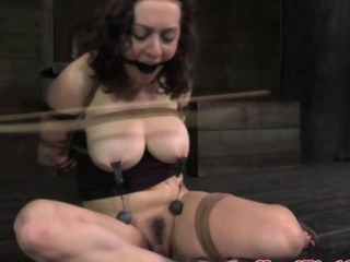 TT NT s&d slave restrained moreover spanked by her dominant