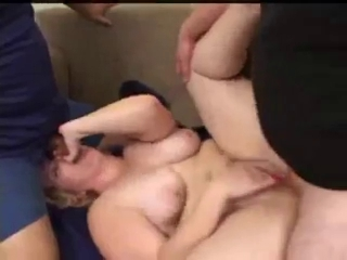 chubby harlot takes possession Double Teamed