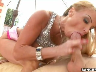 enormous milk cans MILF wins creampie ultimately hardcore drilling