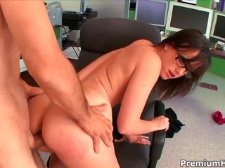 Jennifer White is perverted as affliction too goes to bed with with sexy greed in desirous sex action with perverted guy