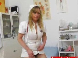 magnificent head nurse seizes perverse again