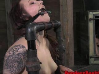 bondage action submissive Mollie Rose breath action