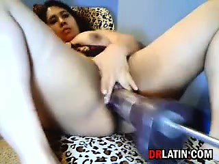 latina lady.latin chick fucked By A Machine