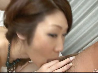 impressive maid plays with dick using magic htogether withs together with kisser