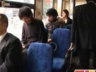Saki collects doggy fuck in bus junket