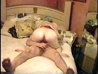 Wife riding my prick cultivate cum!