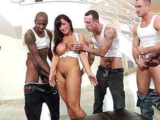 Lisa Ann - team-fucked